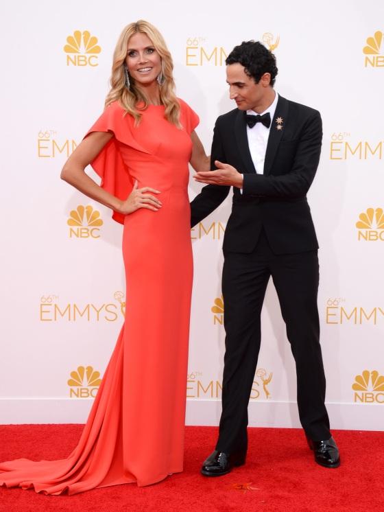 Heidi Klum - Emmys 2014