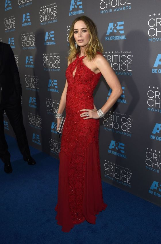 Emily Blunt - Critics' Choice Awards 2015