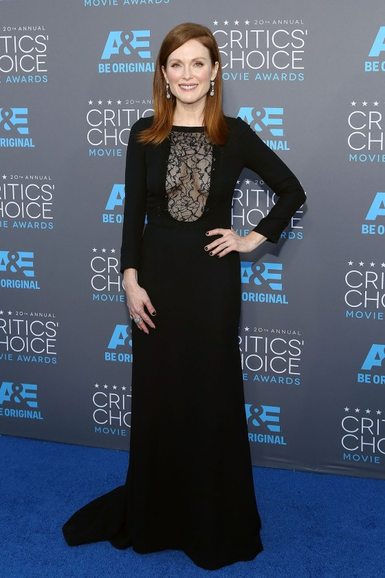 Julianne Moore - Critics' Choice Awards 2015