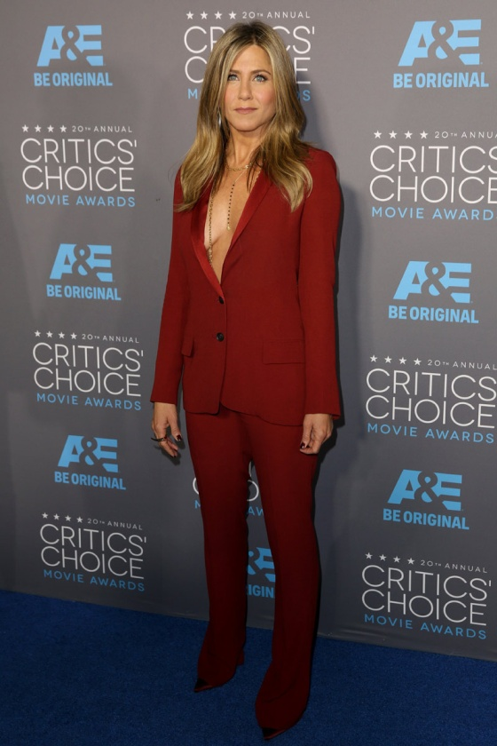 Jennifer Aniston - Critics' Choice Awards 2015