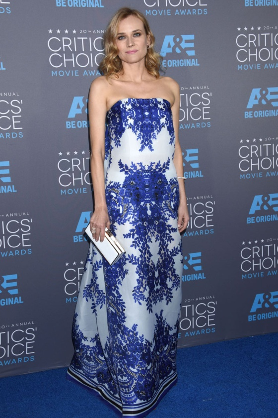 Diane Kruger - Critics' Choice Awards 2015