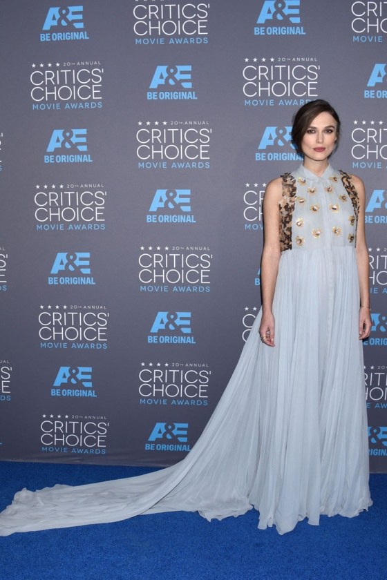 Keira Knightley - Critics' Choice Awards 2015