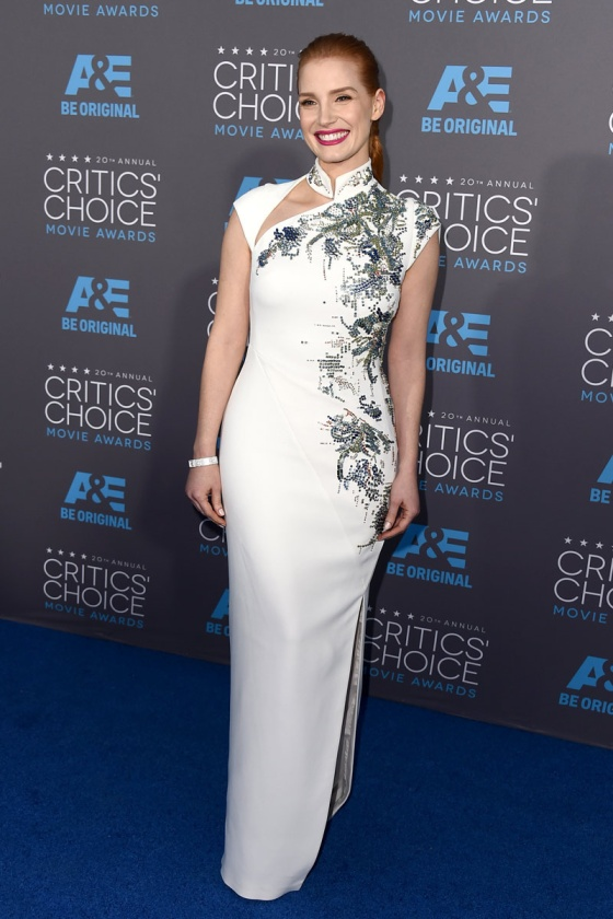 Jessica Chastain - Critics' Choice Awards 2015